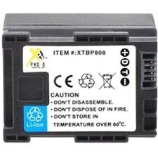 1550mAh Battery BP-807 BP-808 BP-809 BP-809B BP-809S for Canon FS305 FS306 FS307