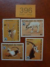 More details for niger endangered animals stamps  mnh