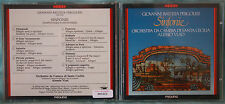 GIOVANNI BATTISTA PERGOLESI - SINFONIE - ALESSIO VLAD - 1 CD n.1554
