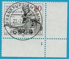 Berlin aus 1985 gestempelt MiNr.731 Ecke unten rechts - von Humboldt!