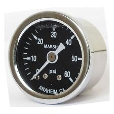 Marshall Öldruckmanometer, Öldruckanzeige black 60PSI - 1/8NPT  Harley Davidson