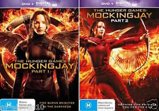 The Hunger Games 3: MOCKINGJAY Parts 1 & 2 : NEW DVD