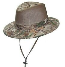 STETSON * MENS SAFARI HAT M L XL * NEW CAMO NO FLY ZONE SUN SHADY HUNT FISH UPF