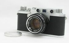 NICCA Type-3F III F Télémètre Appareil Photo Avec / TOPCOR-S 5cm F/2 L39 Leica