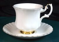 Royal Albert Val D'or Coffee Cups & Saucers - 1st Quality - Excellent Condition