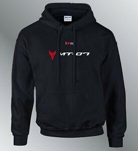 Sweat shirt Hoodie personnalise MT07 M XL moto MT-07 capuche sweatshirt sweater