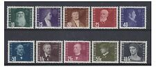 Liechtenstein - 1948 Pioneers of Flight set - M/M - SG 259/68