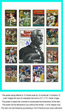 Miami Dolphins Sports Illustrated Cover Collection Poster