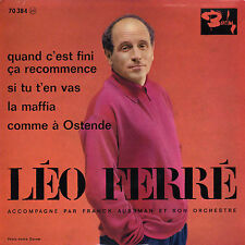 LEO FERRE COMME A OSTENDE FRENCH ORIG EP