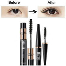 2pcs 4D Silk Fiber Eyelash Mascara Extension Curl Waterproof + Lash Mascara CN
