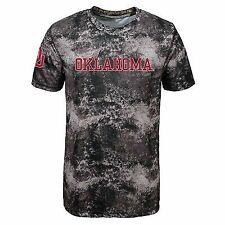 Oklahoma Sooners NCAA Outerstuff Youth Black Sublimated Dri-tek T-shirt