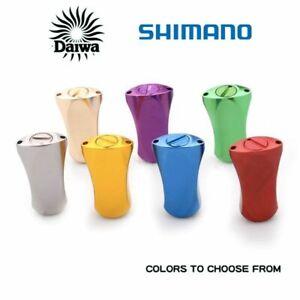 Shimano Daiwa Reel Handle Knob Aluminum Colorful Spinning Baitcasting