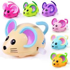 Educational Children Plastic Clockwork Toy Mouse Shape Walking Wind Up Toy
