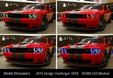 Pair LED Halos for 2015-2020 Dodge Challenger (Multi Color W/ Bluetooth Control)