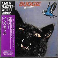BUDGIE Impeckable (1978) JAPAN CD OBI 1991 Pony Canyon PCCY-10203