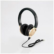 kb10 ELECOM EHP-R/OH1000A GD Hi-Res Headphones Gold Titanium-coated Diaphragm