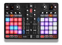 Hercules P32 DJ Controller Unique Dual Deck USB Controller Integrated Audio