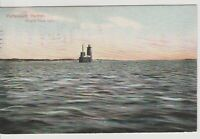"""Whales Back Light -MAINE Vintage Postcard (3x5"""") early 1908 *Free Shipping*"""
