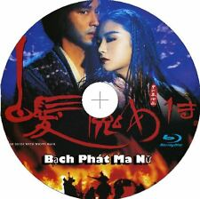 Bạch Phát Ma Nữ - The Bride With White Hair - Phim Le (Blu-ray) - USLT