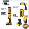 DEWALT (DCL050) 20V MAX LED Work Light, Hand Held, Tool Only 140 Degree Pivoting