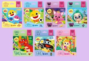 Pinkfong Baby Shark Wonderstar Roll Sticker Toy For Baby Kids 200ea - 7 Types