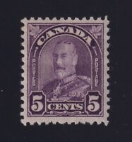 Canada Sc #169 (1930) 5c dull violet Arch Issue Mint VF NH MNH