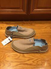 NWT Columbia Men's Size 11 Bahama Vent PFG Boat Fishing Shoes Antimicrobial Tan
