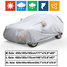 M/L/XL SUV Full Car Cover Waterproof Snow Rain Resistant All Weather Protection