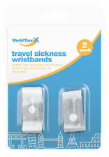 2pc Nausea Travel Sickness Anti Motion Wrist Bands Sick Pressure Points Sea Car