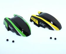 Blade Nano QX Green & Yellow Canopies w/ Mounting Grommets BLH7614