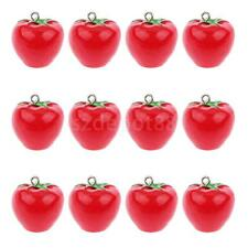 12x Tomato Vegetables Pendant Keyring Key Chain Phone Hangings DIY Charms
