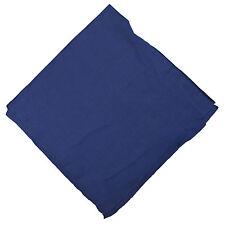 Halstuch 50 x 50 cm Baumwolle 1A Qualität Einfarbig Uni Azofrei Tuch Accessoire