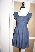 Juniors Blue Denim Dress Size Small/Medium Great Condition