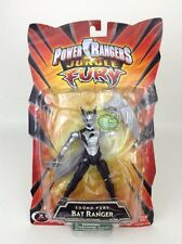 Bandai 2007 Power Rangers JUNGLE FURY Black Bat Ranger Action Figure SEALED