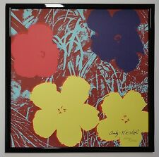 C - Andy Warhol Flowers Lithograph Limited 2400 pcs.
