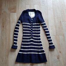 maglione donna a righe, pullover  lungo donna bottoncini , maglia donna a righe