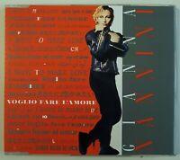 """GIANNA NANNINI : VOGLIO FARE L'AMORE (12"""" MIX - 7:05) + I MASCHI ♦ Maxi-CD ♦"""
