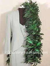 COQUE FEATHER BOA  GREEN -  COSTUME SHOW DANCE