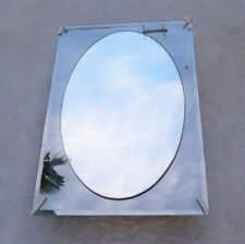 Medicine Cabinet by ZENITH, Frameless Oval on Beveled Mirror. NEW !