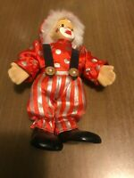 Clown Doll Vintage Red