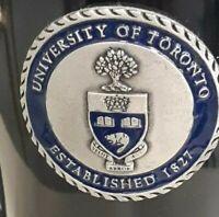 Toronto University Caffe mug  tea  cup Black.