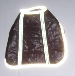 NWOT Black Reflective Puffer Coat Dog Size Small