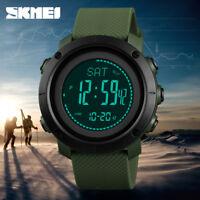 SKMEI Altimeter Barometer Thermometer Altitude Men Digital Watches 1418/1427