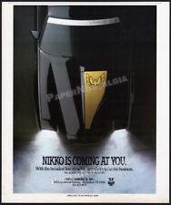 NIKKO TOYS__Orig. 1986 Trade Print AD / ADVERT__Pontiac Firebird Trans Am__RC ad
