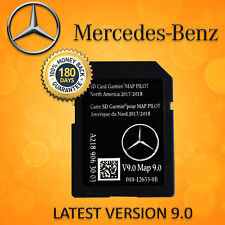 2018 2019 Mercedes-Benz SD Card GPS Navigation GLC C-Class Garmin Map Pilot V9.0