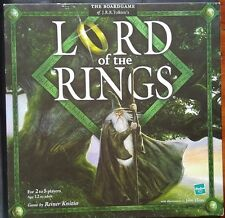 2001 Hasbro Parker Lord of the Rings Board Game by Reiner Knizia - Tolkien