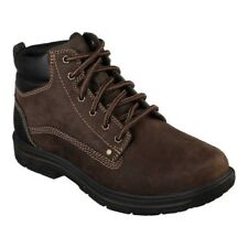 Skechers Para Hombre calce relajados segmento Granate Boot
