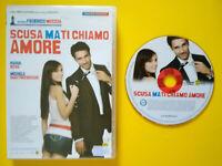DVD Film Ita Commedia SCUSA MA TI CHIAMO AMORE moccia ex nolo no vhs cd lp (H1)