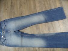 ESCADA Sport coole used look Jeans weites Bein Gr. 38 TOP KoS1217