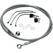 Front lower brake line stainless steel - Drag specialties 691183